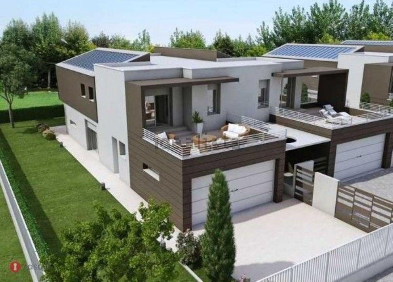 Ville in vendita a fidenza in zona fornio cerca con for Villetta moderna progetto