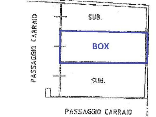 Garage o posto auto In Vendita