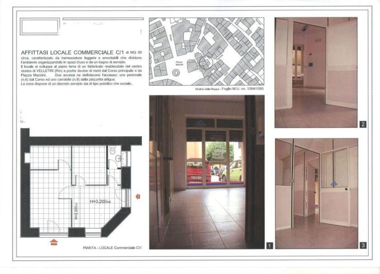 Immobile Commerciale in affitto a Velletri, 9999 locali, prezzo € 450 | Cambio Casa.it