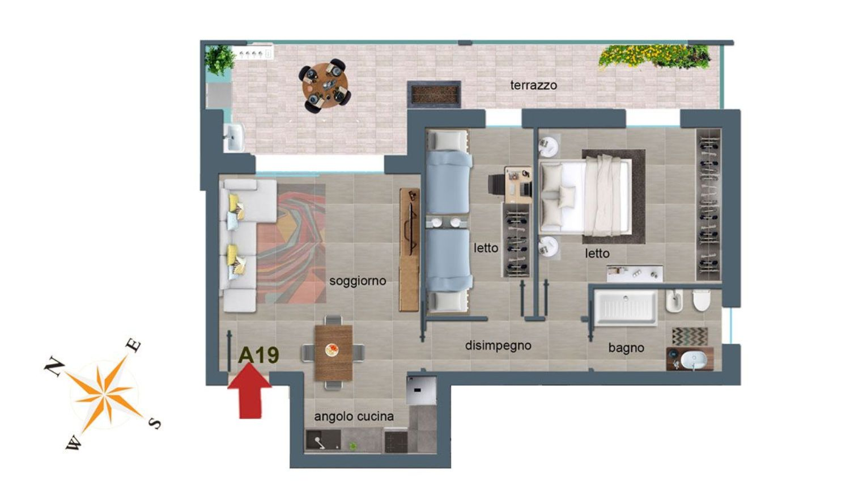 Attico / Mansarda in vendita a Pescara, 3 locali, prezzo € 199.000 | PortaleAgenzieImmobiliari.it