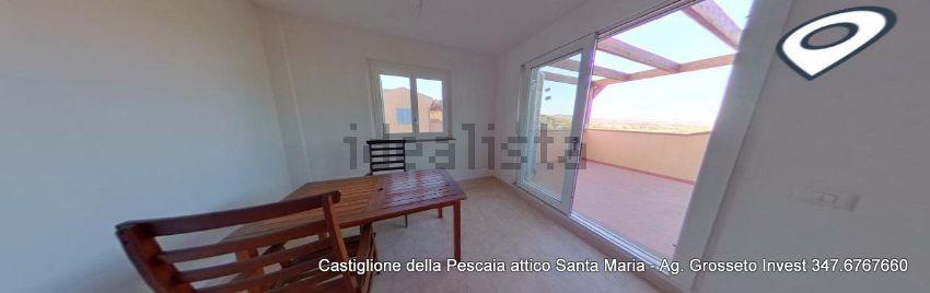 Sala dell'attico in vendita a Poggio Santa Maria,Castiglione della Pescaia
