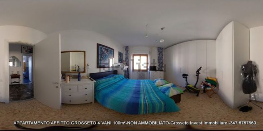 Camera del quadrilocale vendita Grosseto, via Depretis. case-grosseto-vendita