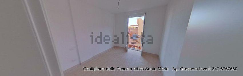 Camera da letto dell'attico in vendita a Poggio Santa Maria,Castiglione della Pescaia