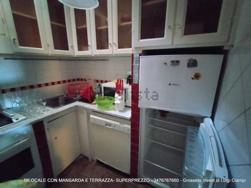 Grosseto Invest Vende - Cucinadel bilocale con mansarda in Viale Uranio,, Grosseto