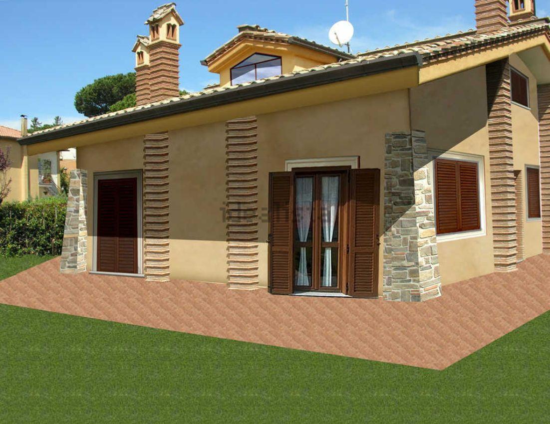 Interesting facciate ville with facciate ville for Prospetti di case moderne