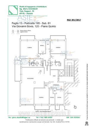 Appartamento in viale Giovanni Bovio, 120