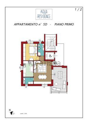 Attico in via Carlo Porta s.c.n