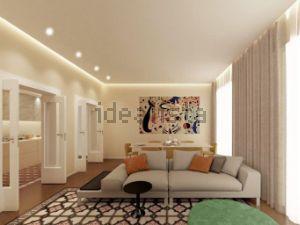Appartamento su due piani in via mentana s.c.n