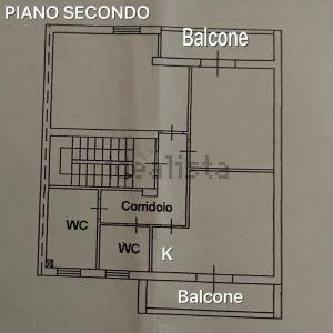 Appartamento su due piani in viale Mario Rotili, 1