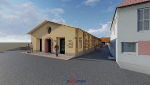 Appartamento in via Gravisca, 24 -26-28