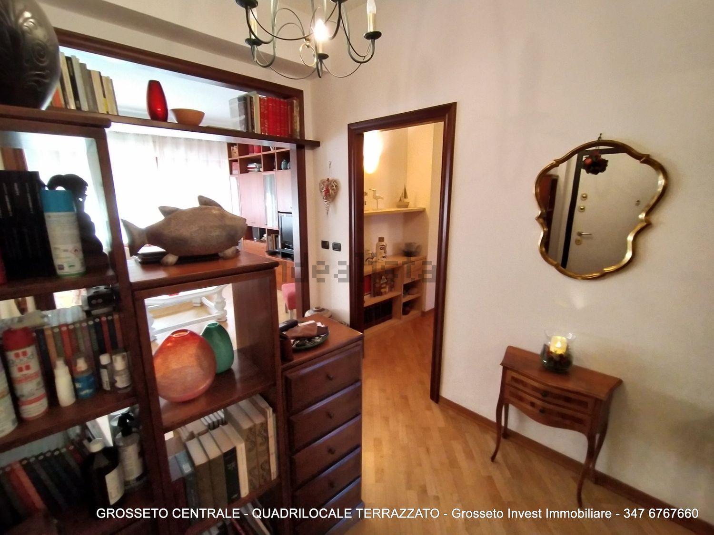 Grosseto Invest di Luigi Ciampi vendita appartamento Ingresso di quadrilocale su  Agostino de pretis, 10, Centro, Grosseto