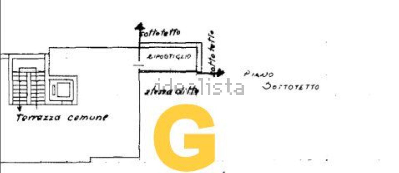 Immagine Planimetria di attico su via Galena s.n.c, Barbanella-Villaggio Azzurro, Grosseto