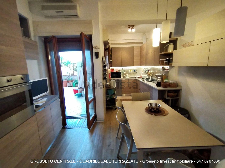 Grosseto Invest di Luigi Ciampi vendita appartamento Cucina di quadrilocale su  Agostino de pretis, 10, Centro, Grosseto