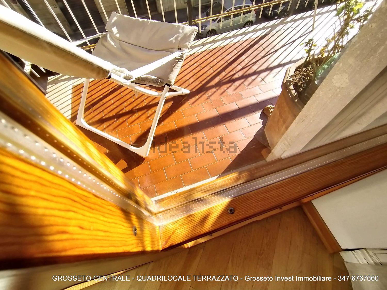 Grosseto Invest di Luigi Ciampi vendita appartamento Dettagli di quadrilocale su  Agostino de pretis, 10, Centro, Grosseto