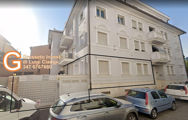 Vista appartamento quadrilocale appartamento Grosseto, via Corridoni angolo Porciatti - Grosseto Invest