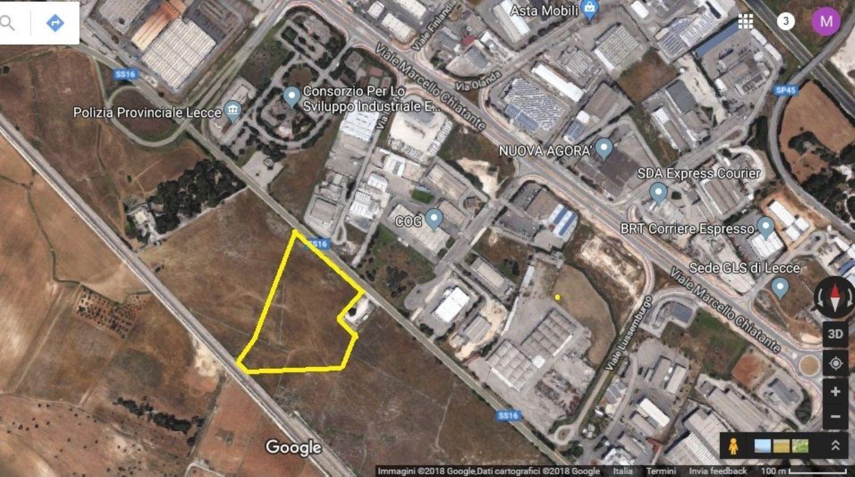Terreno in vendita in Zona Industriale Surbo s.n.c, Surbo